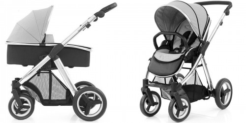 Коляска 2в1 Babystyle Oyster Max Pure Silver шасси Silver