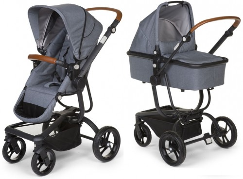 Коляска 2в1 Child Wheels Urbanista kol. Grey