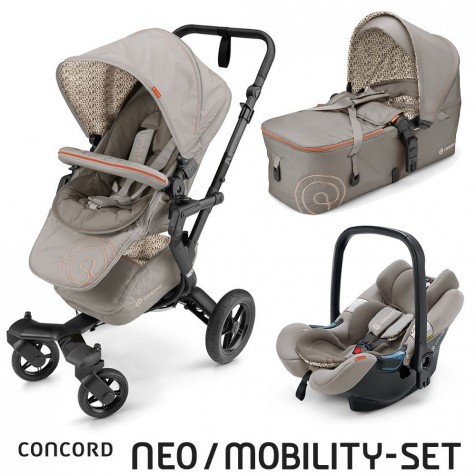 Concord Neo Mobility Set 2016 цвет Cool Beige