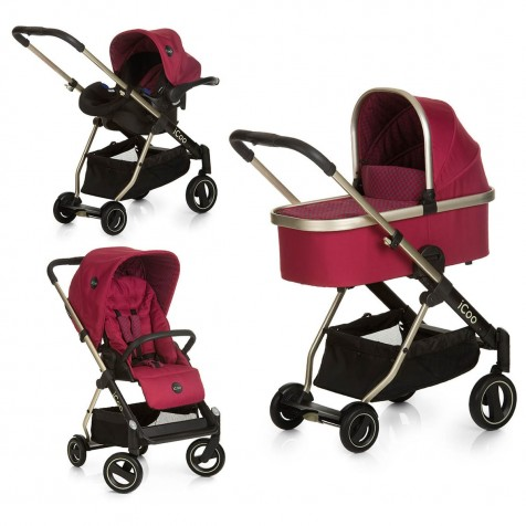 iCoo Acrobat XL Plus Trio Set kol. Diamond Ruby