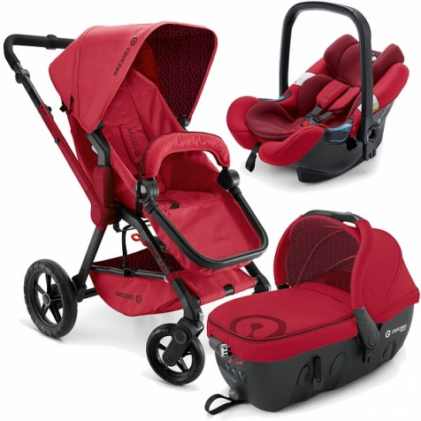 Concord Wanderer Travel-Set цвет Ruby Red