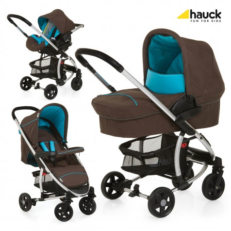 Hauck Miami 4 Trio Set цвет Coffee Capri