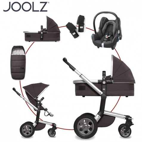 Joolz Quadro Day Travel System kol.CARBON