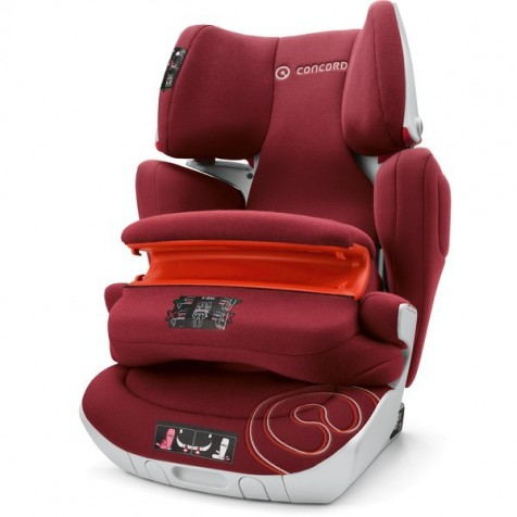 Concord Transformer XT Pro Isofix цвет Bordeaux Red