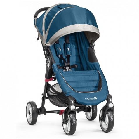 Baby Jogger City Mini 4 цвет Teal/Gray