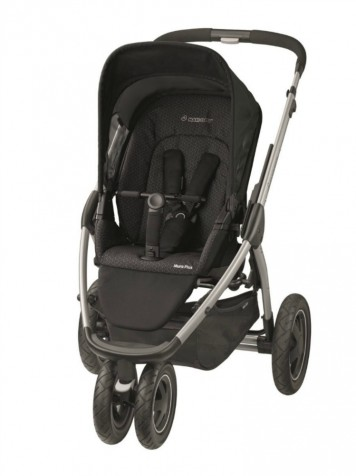 Пргулочная коляска Maxi-Cosi Mura Plus 3 kol. Crystal Black