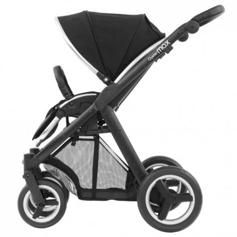 Прогулочная коляска Babystyle Oyster Max Ink Black шасси Black