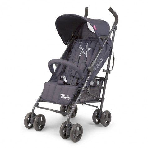 Прогулочная коляска Child Wheels Multi Pos kol. Anthracite