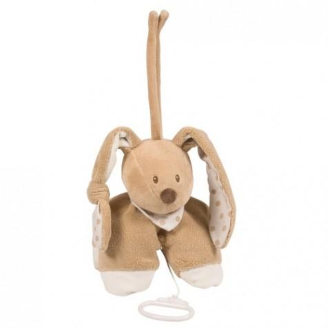 Музыкаьная игрушка Nattou кролик 25 см