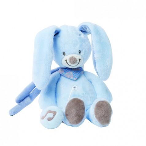 Детская игрушка Nattou кролик Bibou 21 см