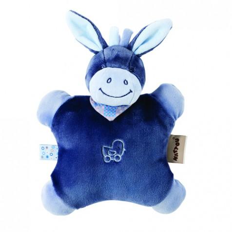 Мягкая игрушка-подушка NATTOU ослик  Alex