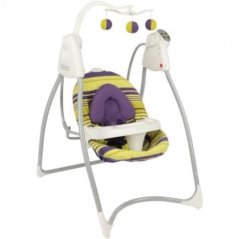 Кресло-качель Graco Swing N Bounce цвет Blackberry spring