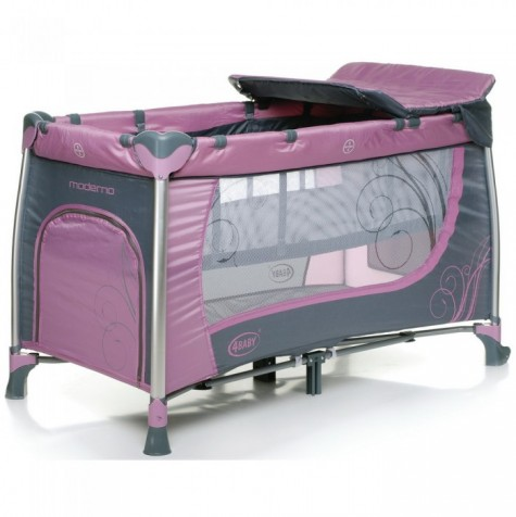 4Baby-Krovatka-manez-Moderno-Purple
