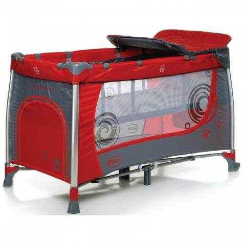4Baby-Krovatka-manez-Moderno-Red