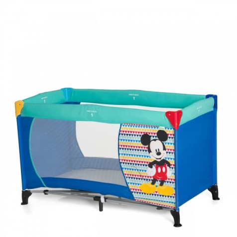 Hauck Disney baby Dream N Play  Mickey Geo Blue
