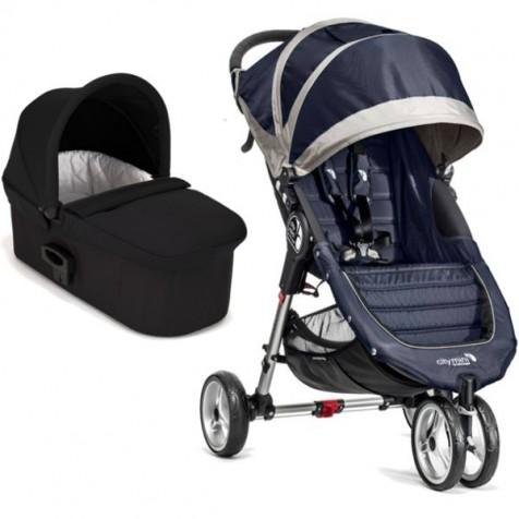 Baby Jogger City Mini цвет Navy Blue/Gray