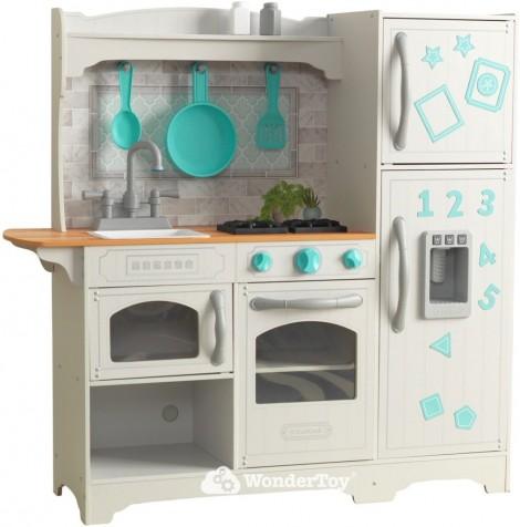 Деревянная кухня для детей Kidkraft Countryside Play Kitchen - Магнитная дверь