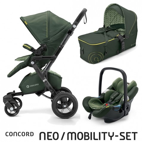 Concord Neo Mobility Set Limited Jungle Green