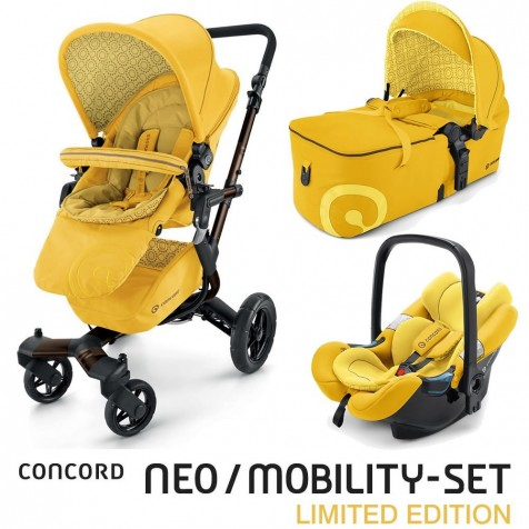Concord Neo Mobility Set Limited Blazing Yellow