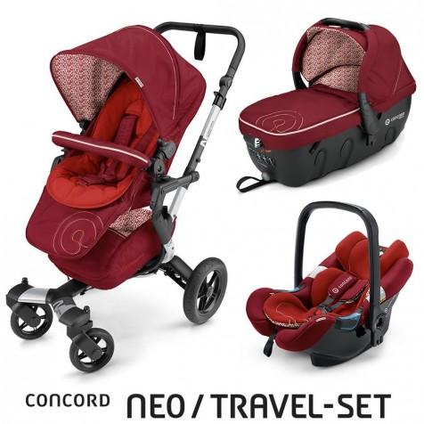 Concord Neo Travel Set цвет Tomato Red