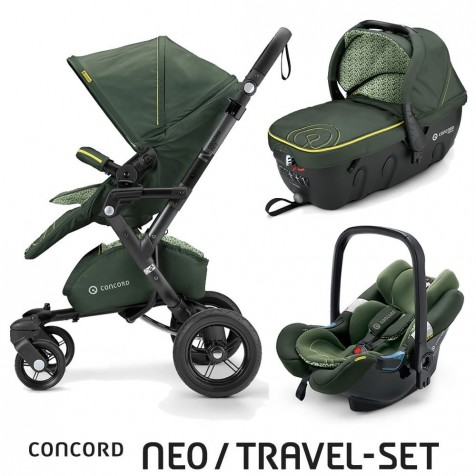 Concord Neo Travel Set Limited Jungle Green