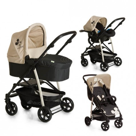 Disney Baby Rapid 4 Plus Trio Set цвет Mickey Charcoal
