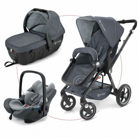 Concord Camino Travel Set kol.Steel Grey