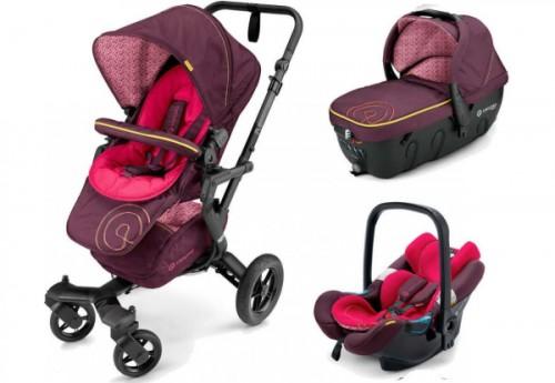 3в1 Concord Neo Travel Set цвет Rose Pink