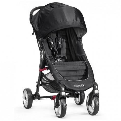 Baby Jogger City Mini 4 цвет Black/Gray