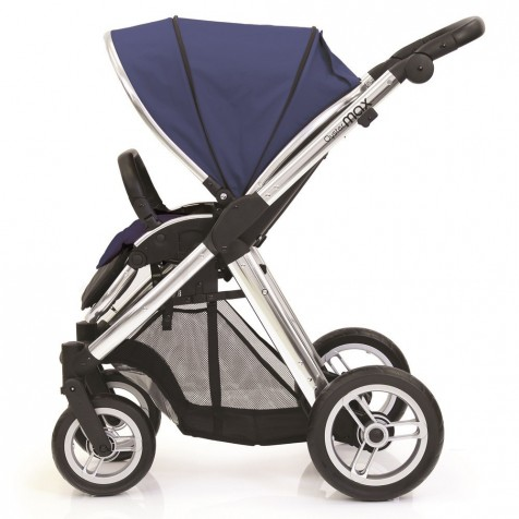 Прогулочная коляска Baby Style Oyster Max Oxford Blue шасси Silver