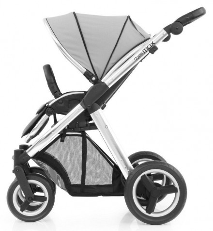 Прогулочная коляска Babystyle Oyster Max Pure Silver шасси Silver