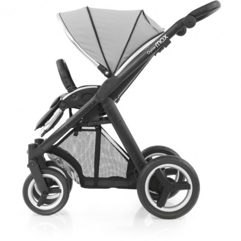 Прогулочная коляска Babystyle Oyster Max Pure Silver шасси Black