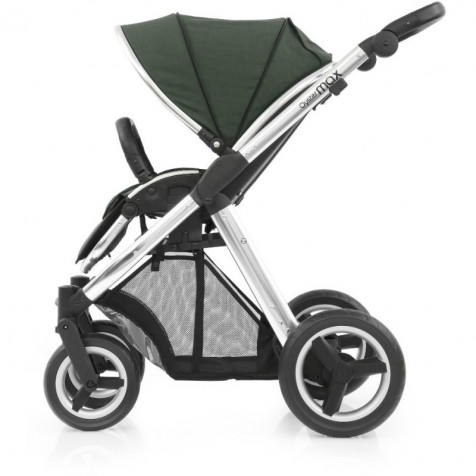 Прогулочная коляска Babystyle Oyster Max Olive Green шасси Silver