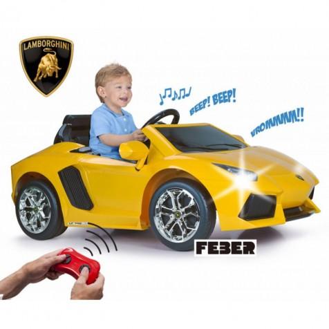 Автомобиль Feber Lamborghini Aventador 6V 11471